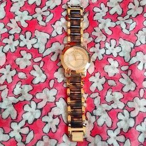 BARELY WORN Michael Kors MK Tortoise Shell Watch!